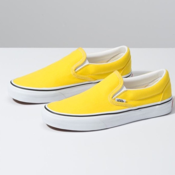 Vans Classic Slipon Vibrant Yellow